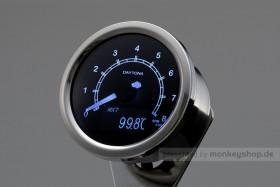 Daytona Velona ø60 Drehzahlmesser 8000 RPM poliert