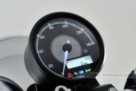 Daytona Velona ø80 Tachometer 140 km/h schwarz
