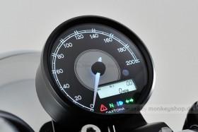 Daytona Velona ø80 Tachometer 200 km/h schwarz