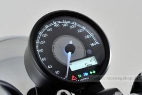 Daytona Velona ø80 Tachometer 260 km/h schwarz