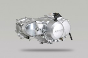 Daytona 88 cc Tuning Motor 10 PS 4-Gang halbautomatik ohne Licht