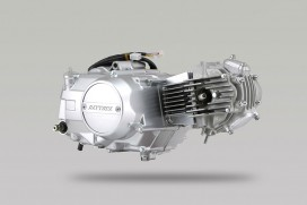 Daytona 88cc Tuning Motor 4-Gang halbautomatik mit Licht