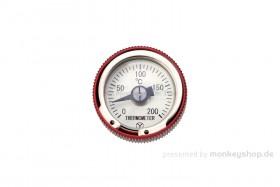 Daytona Öltemperatur Anzeige f. MSX Aluminium rot eloxiert