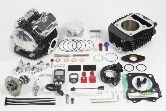 Takegawa Tuning Kit 181cc 4-Valve (4V+R) Zylinderkopf mit FI-Con2 f. Honda MSX
