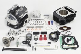 Takegawa Tuning Kit 181 cc 4-Valve (4V+R) Zylinderkopf mit FI-Con2 f. Honda MSX SF (LED)