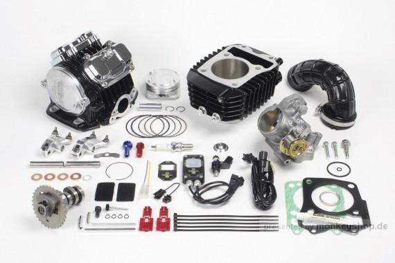 Takegawa Tuning Kit 181cc 4-Valve (4V+R) Zylinderkopf f. Honda MSX