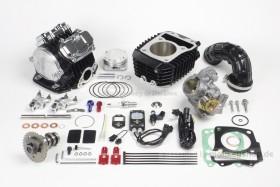 Takegawa Tuning Kit 181 cc 4-Valve (4V+R) Zylinderkopf mit FI-Con2 & Drosselklappe f. Honda MSX SF (LED)