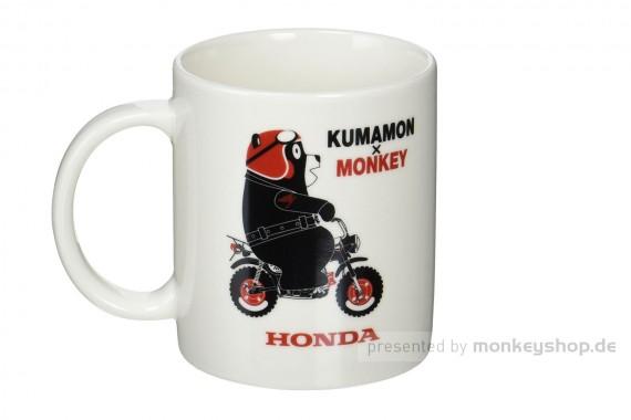 Honda Kumamon x Monkey Tasse weiß