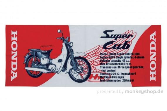 Honda Super Cub Halstuch rot