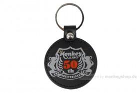 Honda Monkey 50 Jahre Jubiläum Schlüsselanhänger schwarz