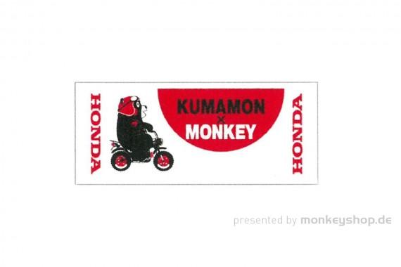 Honda Kumamon x Monkey Handtuch