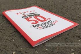 Honda Monkey 50 Jahre Jubiläum Broschüre