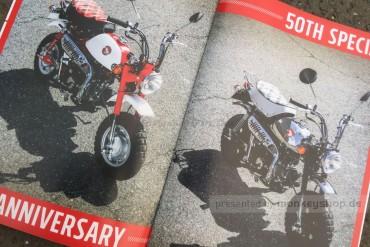 Honda Monkey 50 Jahre Broschüre
