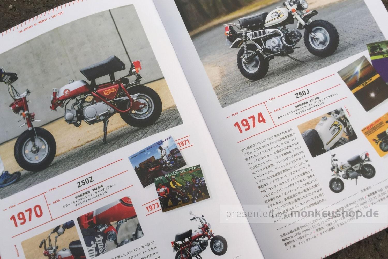 Honda Monkey 50 Jahre Jubiläum Broschüre - monkeyshop.de