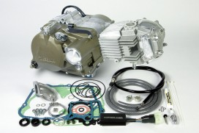 Takegawa 158 cc Tuning Motor 2V 21,5 PS 5-Gang mit Licht