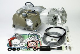 Takegawa 138 cc Tuning Motor 4V 21,7 PS 5-Gang mit Licht