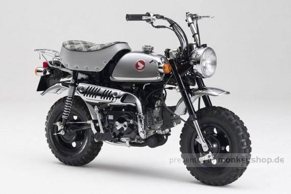 Honda Monkey Z50 FI 50 Jahre Jubiläum Chrom Mokick mit Einspritzung