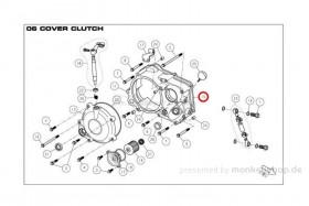 Daytona ANIMA 150 190 Dichtung Motorgehäuse Kupplungsgehäuse