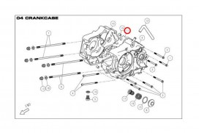 Daytona ANIMA 150 190 Dichtung Motorgehäuse Kurbelgehäuse Mitteldichtung