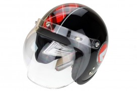 Honda Monkey 50 Jahre Jubiläum Helm schwarz
