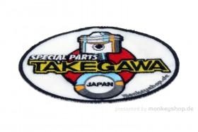 Aufnäher Takegawa oval 8,5x11 cm