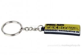 Schlüsselanhänger Takegawa Gummi 19x48 mm