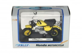 Welly Honda Monkey Modell 1:18 gelb