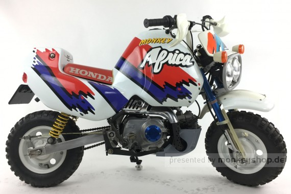 Honda Monkey BAJA Africa Twin Kit 50 cc Mokick