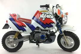 Honda Monkey Z50 BAJA Africa Twin Kit 50 cc Mokick BJ 1991 666km
