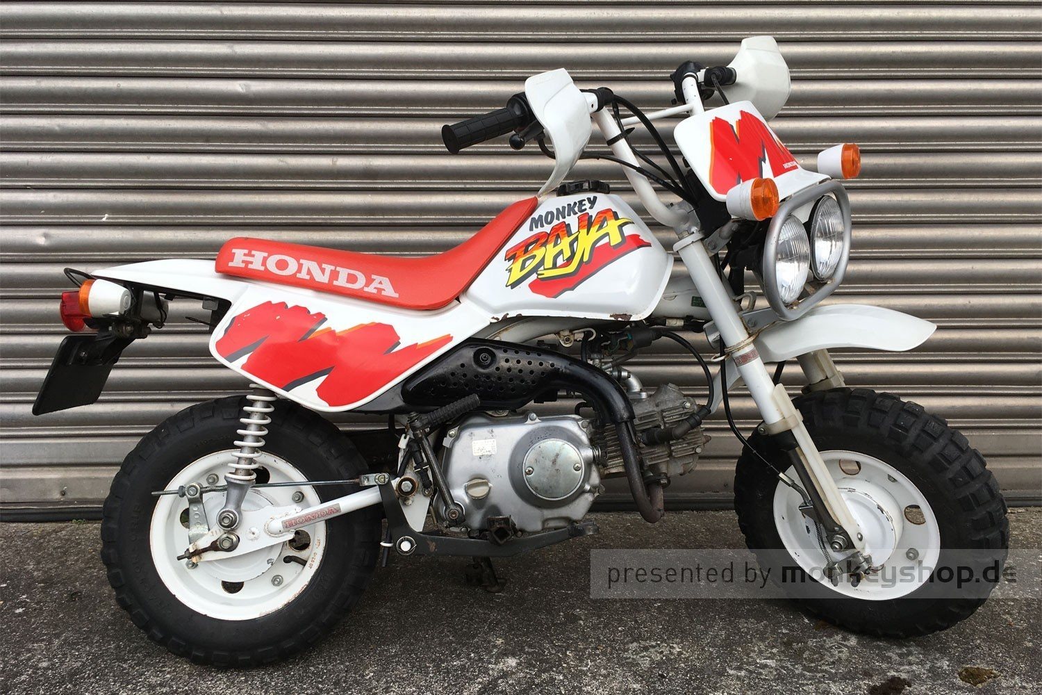 honda monkey z50 baja 50 cc mokick bj 1991 2095 km. Black Bedroom Furniture Sets. Home Design Ideas
