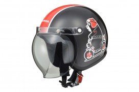 Honda Monkey Kumamon Edition Helm Schwarz Large