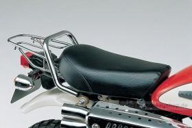 Daytona Sitzbank flach Typ Plain schwarz f. Monkey