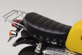 Daytona Sitzbank flach Typ Cozy Seat Mini Rivetted schwarz f. Monkey Gorilla