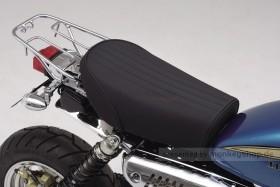 Daytona Sitzbank flach Typ Cozy Seat Mini Stripes schwarz f. Monkey Gorilla