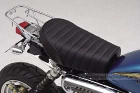 Daytona Sitzbank flach Typ Cozy Seat Mini Dimple Roll schwarz f. Monkey Gorilla