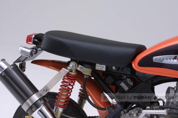 Daytona Sitzbank Typ Flat gelocht schwarz f. Monkey