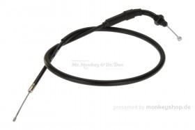 Honda Gaszug Dax 12V schwarz 90° Bogen