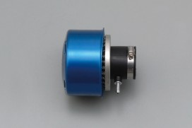 Daytona New Super Power Luftfilter blau gerade 35mm