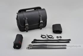 Henly Begins Satteltasche Leder Flat 9 Liter schwarz DHS-1