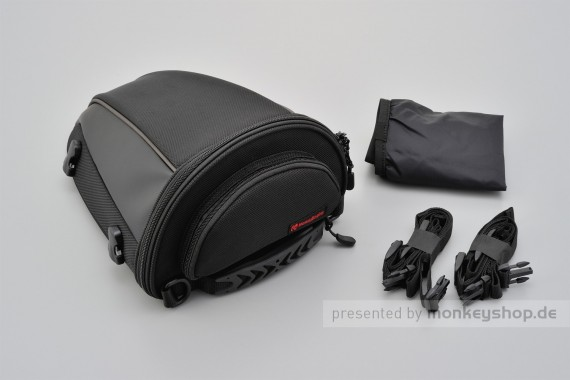 Henly Begins Satteltasche Tail Bag 5.5 Liter schwarz DH-709