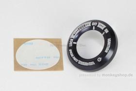 Takegawa Zündschlossring CNC Alu schwarz eloxiert f. Monkey 125