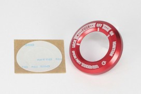 Takegawa Zündschlossring CNC Alu rot eloxiert f. Monkey 125