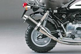 Daytona Racing Carbon Auspuffanlage Monkey untenliegend