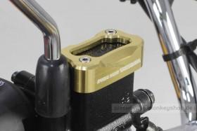 Takegawa Cover Bremspumpe CNC Alu gelb eloxiert f. Monkey 125