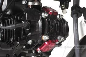 Takegawa Aluminium Ventildeckel rot eloxiert f. Monkey 125 MSX