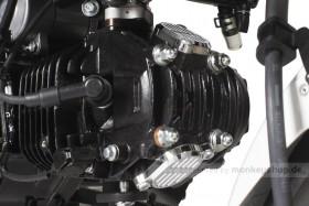 Takegawa Aluminium Ventildeckel verchromt f. Monkey 125 MSX