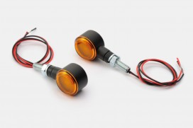 Daytona D-Light SOL LED-Blinker Paar (schwarz matt / orange)