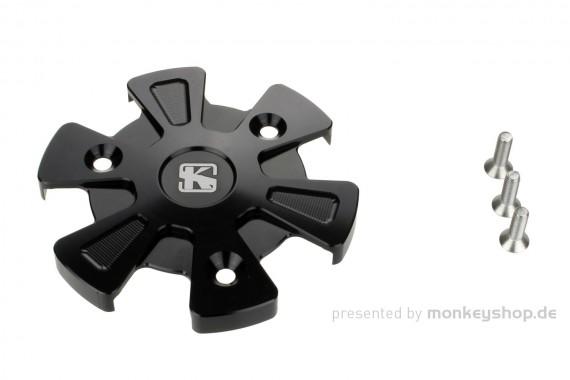 Schutz f. Kupplungsdeckel Alu CNC schwarz eloxiert MSX Monkey 125