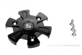 Schutz f. Kupplungsdeckel Alu CNC schwarz eloxiert f. MSX