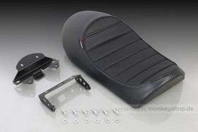 Kitaco Sitzbank flach Typ Tuck Roll schwarz f. Monkey 125 Z125MA